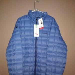 Marmot Dark Cerulean Featherless Jacket XL NWT
